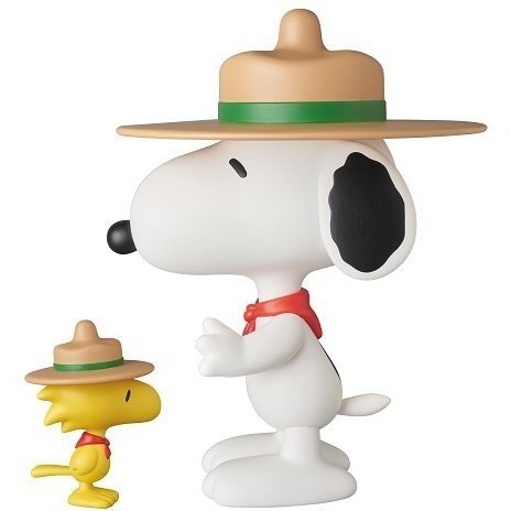 Vinyl Collectible Dolls Peanuts: Beagle Scout Snoopy & Woodstock