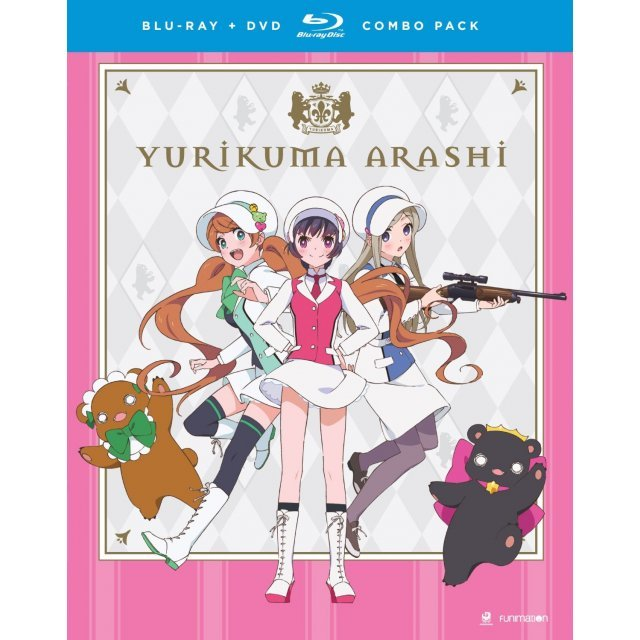 Yurikuma Arashi: Season One The Complete Series [Blu-ray+DVD]