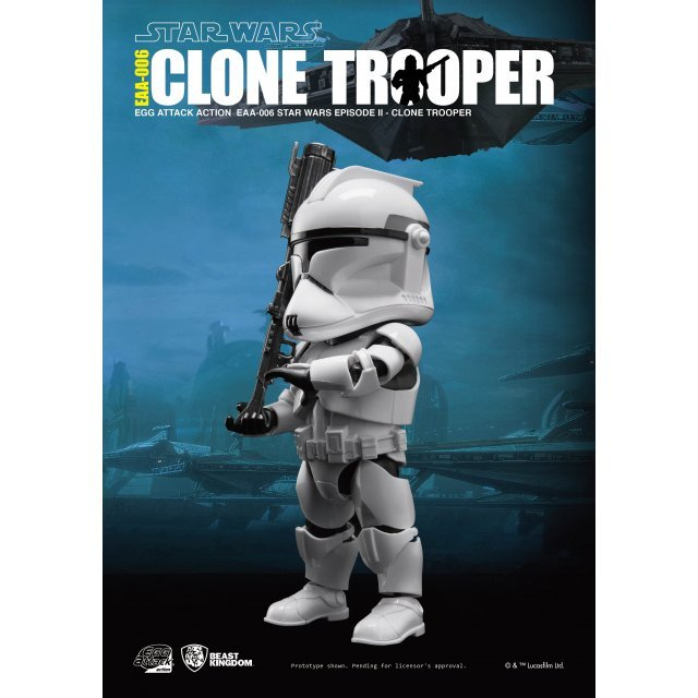 Egg Attack Star Wars Episode II Attack of the Clones: Clone Trooper