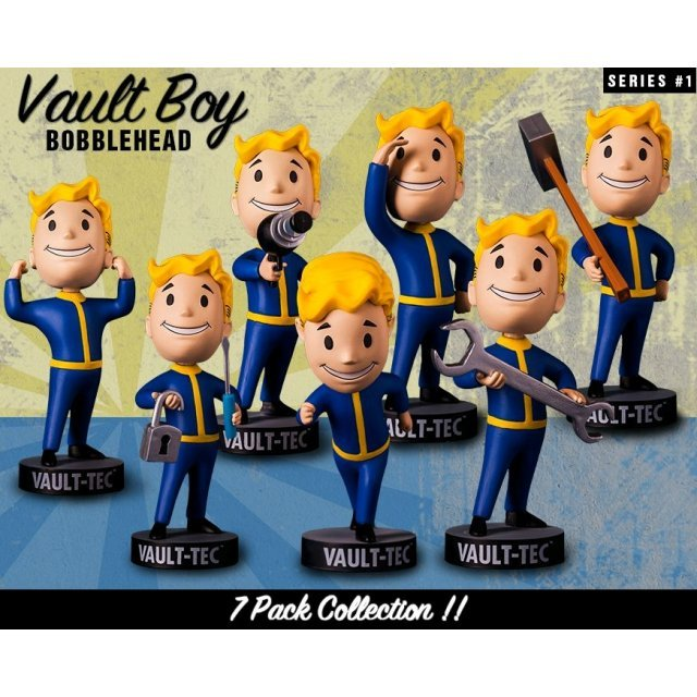 Fallout 4: Vault Boy 111 Bobbleheads Series One (Set of 7 Pieces)