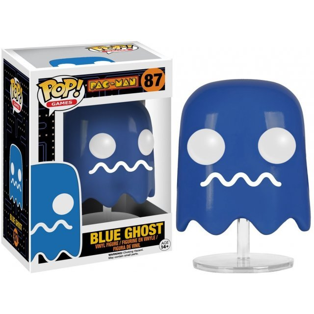 Funko Pop! Games Pac-Man: Blue Ghost