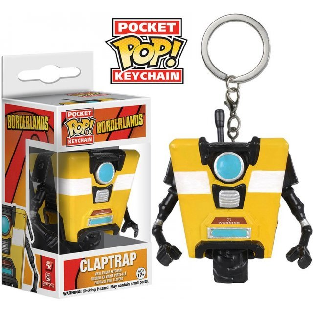 Funko Pop! Keychain Borderlands: Claptrap
