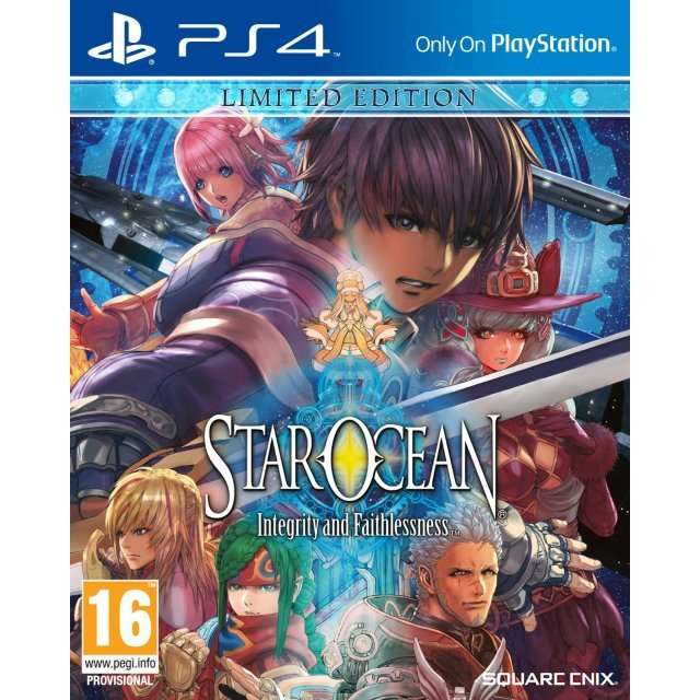 Star Ocean: Integrity and Faithlessness [Limited Edition]