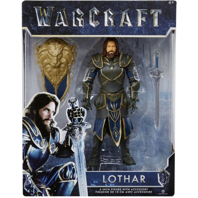 Warcraft 6-inch Action Figure: Lothar