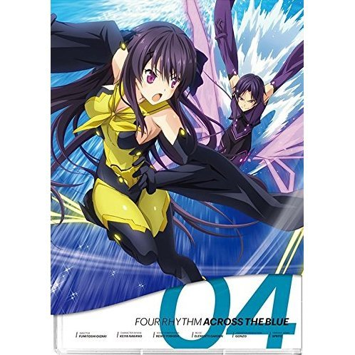 Ao no Kanata no Four Rhythm Vol.4 [Blu-ray+CD Limited Edition]