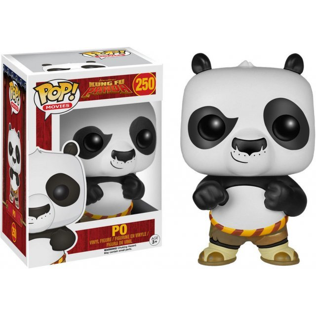 Funko Pop! Movies Kung Fu Panda: Flocked Po (Limited Edition)