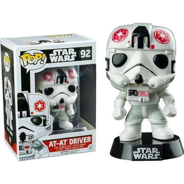 Funko Pop! Star Wars: AT-AT Driver (Exclusive)