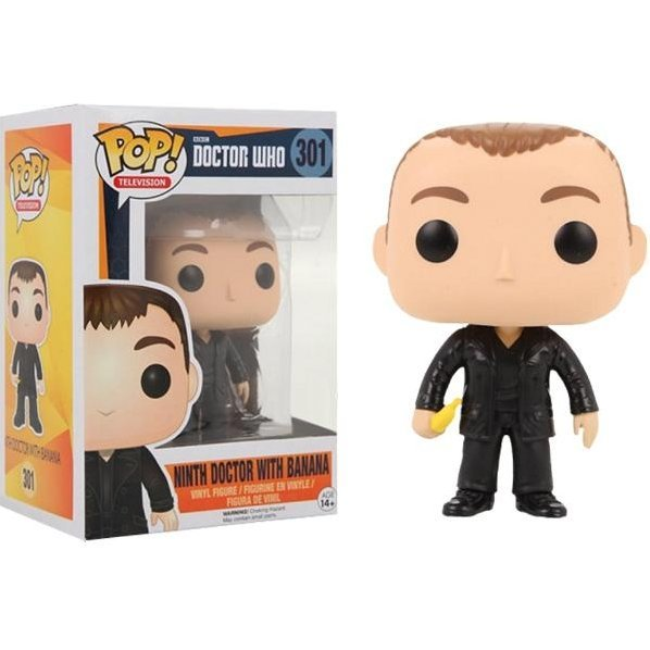 Funko Pop! Television Doctor Who: 9th Doctor With Banana (Exclusive)