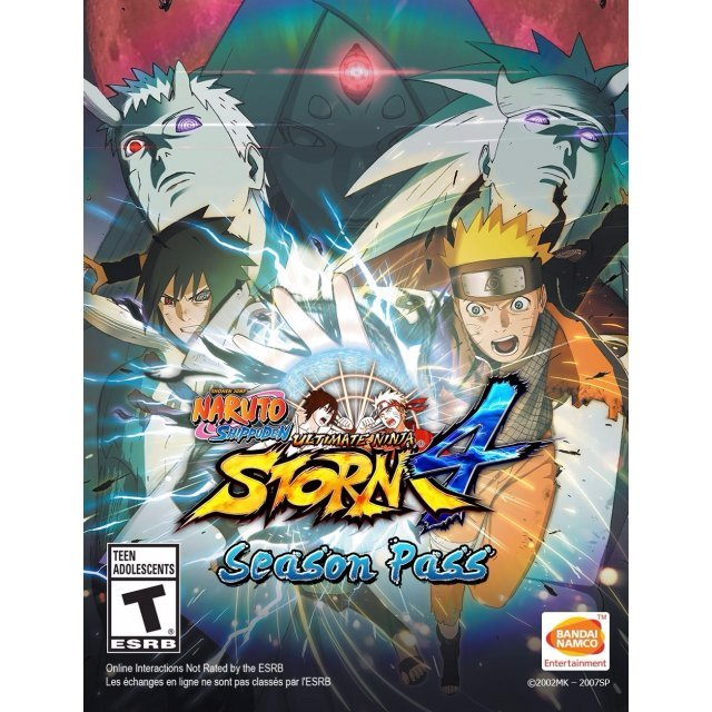 Naruto Shippuden: Ultimate Ninja Storm 4 - Season Pass [DLC] (Steam)