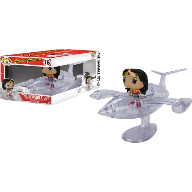 Funko Pop! Rides: Wonder Woman And Invisible Jet