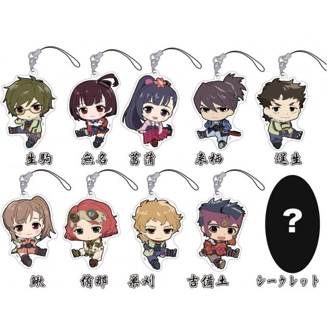 Kabaneri of the Iron Fortress Petanko Trading Acrylic Strap  (Set of 10 pieces)