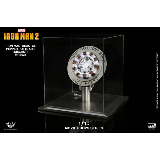 King Arts 1/1 Movie Props Series Iron Man 2: Iron Man Reactor Pepper Potts Gift