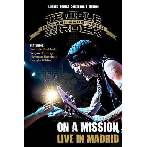 Michael Schenker's Temple of Rock: On a Mission - Live in Madrid [Ltd Deluxe Edition]