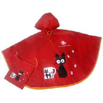 Studio Ghibli Poncho: Jiji Okiniiri no Cup (For Kids)