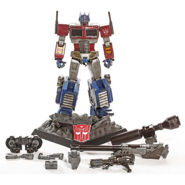 Transformers Collectible Figure: Optimus Prime Megatron Ver. [Asia Exclusive]