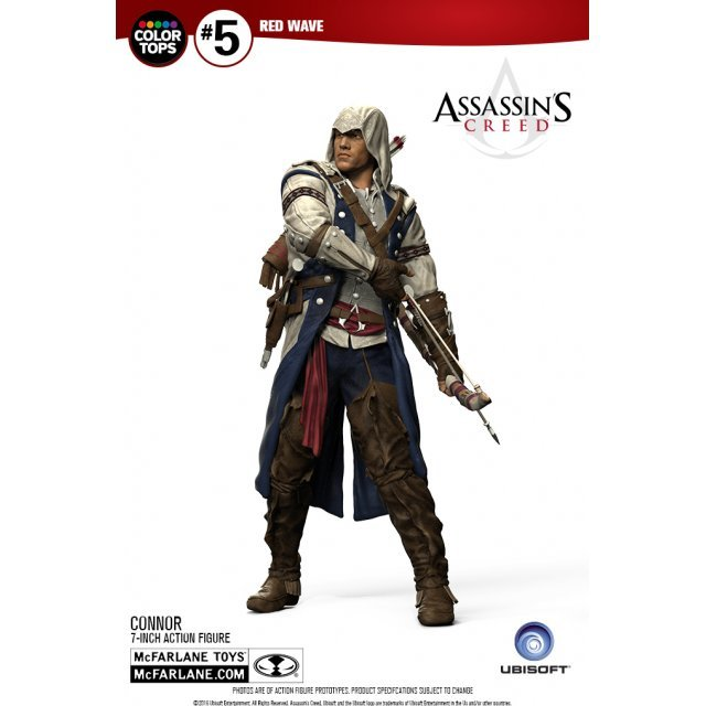 Assassin's Creed 7-inch Action Figure: Connor [#5 Red Wave Color Tops Collector Edition]