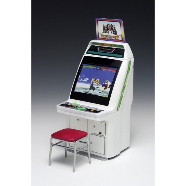 Memorial Game Collection 1/12 Scale Plastic Model Kit: Astro City Arcade Machine Sega Titles