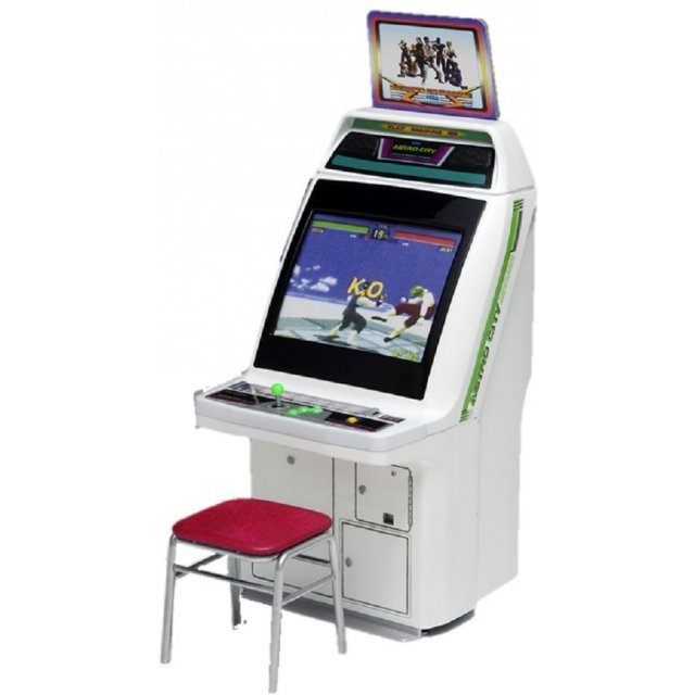 Memorial Game Collection 1/12 Scale Plastic Model Kit: Astro City Arcade Machine Sega Titles (Re-run)