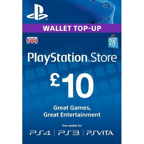 PlayStation Network 10 GBP PSN CARD UK