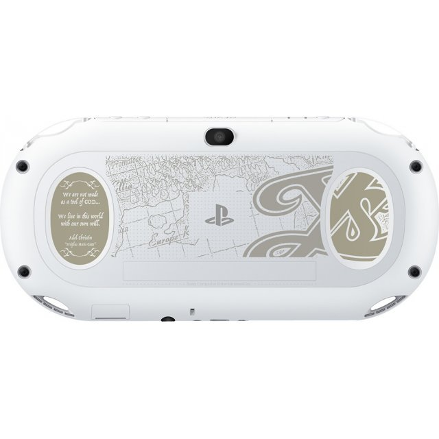 PlayStation Vita [Ys VIII White Cleria Edition] (Glacier White)