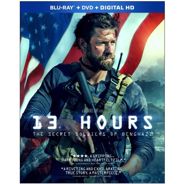 13 Hours: The Secret Soldiers of Benghazi [Blu-ray+DVD+Digital HD]