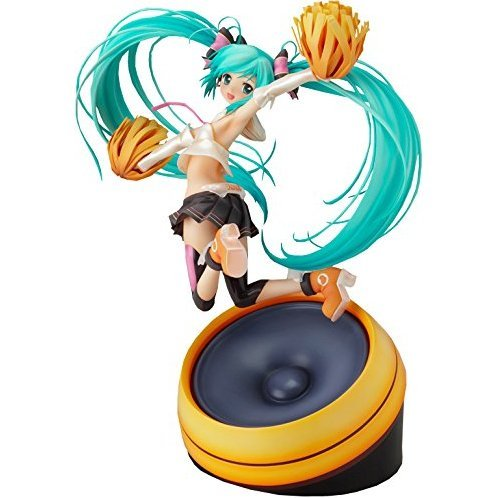 Character Vocal Series 01 Hatsune Miku 1/8 Scale Pre-Painted PVC Figure: Hatsune Miku Cheerful Ver.