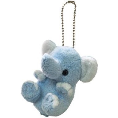 Kyun Kyun Mini Mascot Plush: Elephant