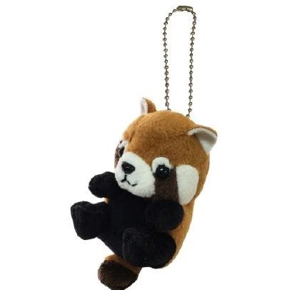 Kyun Kyun Mini Mascot Plush: Red Panda