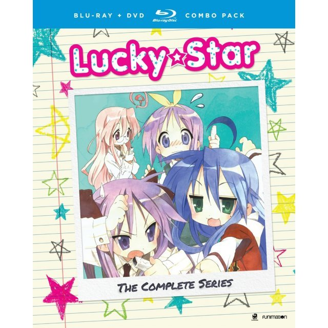 Lucky Star: The Complete Series - OVA [Blu-ray+DVD]