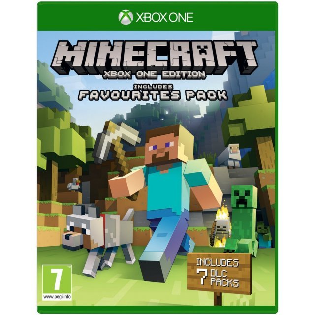 Minecraft: Xbox One Edition [includes Favourites Pack]
