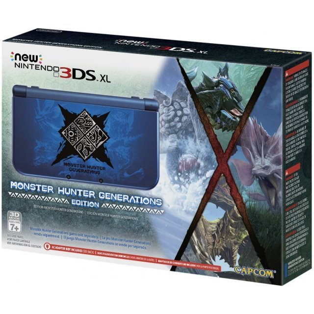 New Nintendo 3DS XL [Monster Hunter Generations Edition]