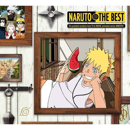 Naruto The Best [CD+DVD Limited Pressing]