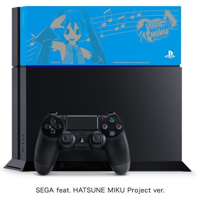 PlayStation 4 System 1TB HDD [Hatsune Miku Project Diva Special Pack] (Jet Black)
