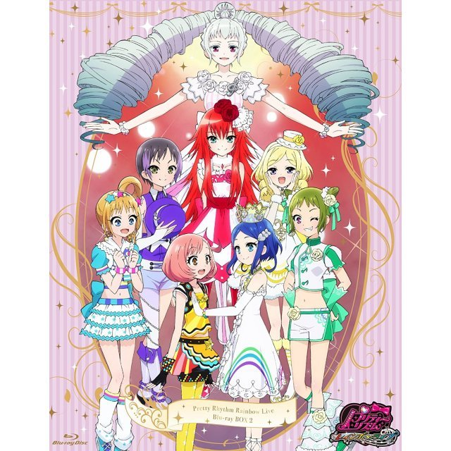 Pretty Rhythm Rainbow Live Blu-ray Box 2