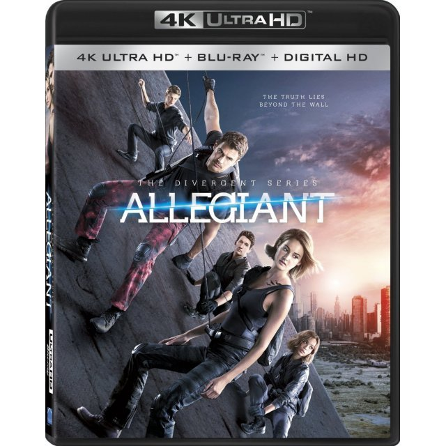 The Divergent Series: Allegiant [4K UHD Blu-ray]