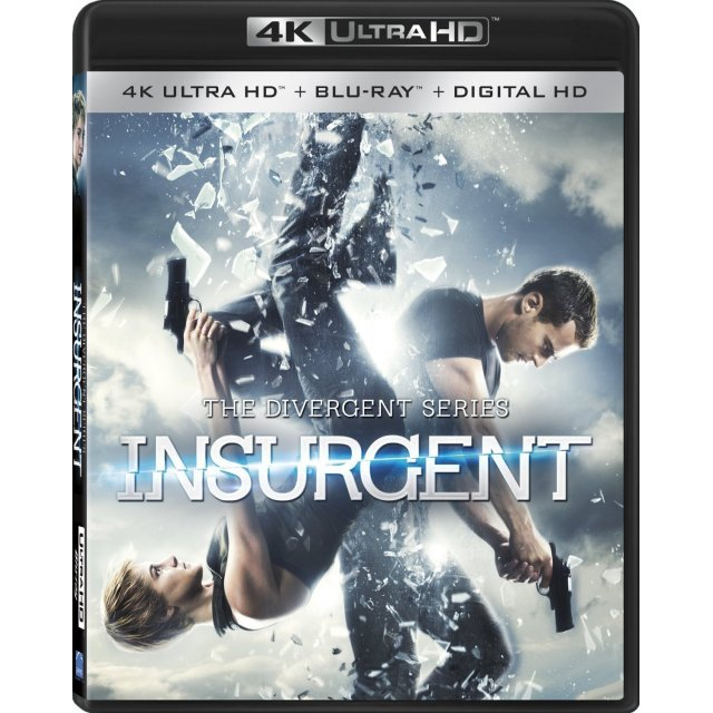 The Divergent Series: Insurgent [4K UHD Blu-ray]