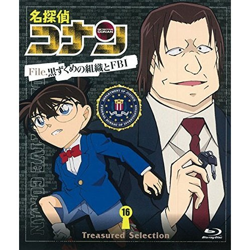 Detective Conan Treasured Selection File Kuruzukume No Shoshiki To Fbi 16