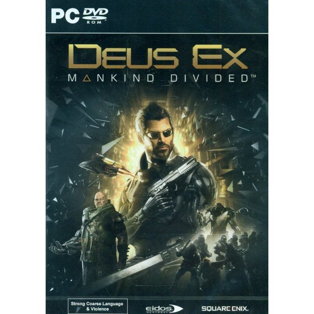 Deus Ex: Mankind Divided (DVD-ROM) (English)