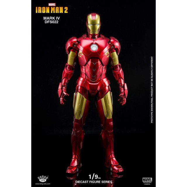 King Arts Iron Man 2 1/9 Diecast Figure Series: Iron Man Mark IV