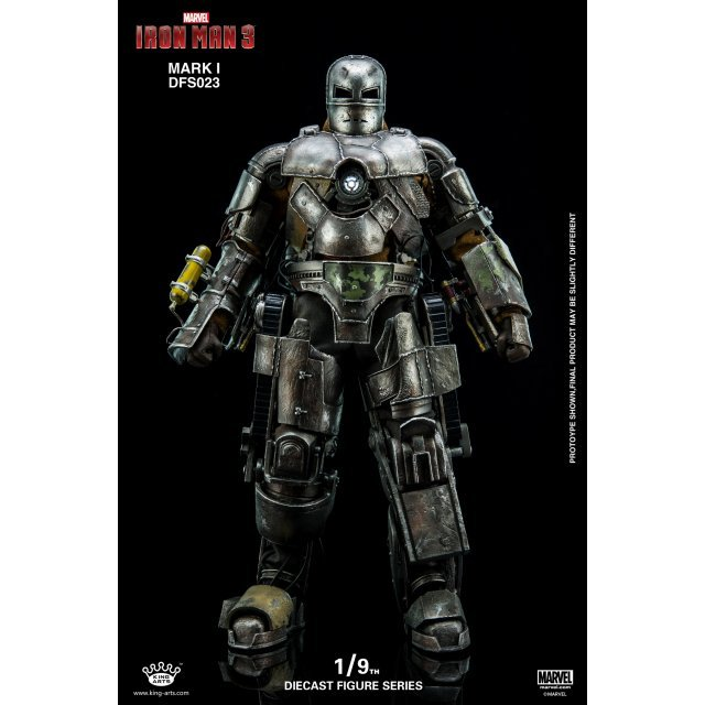 King Arts Iron Man 3 1/9 Diecast Figure Series: Iron Man Mark I