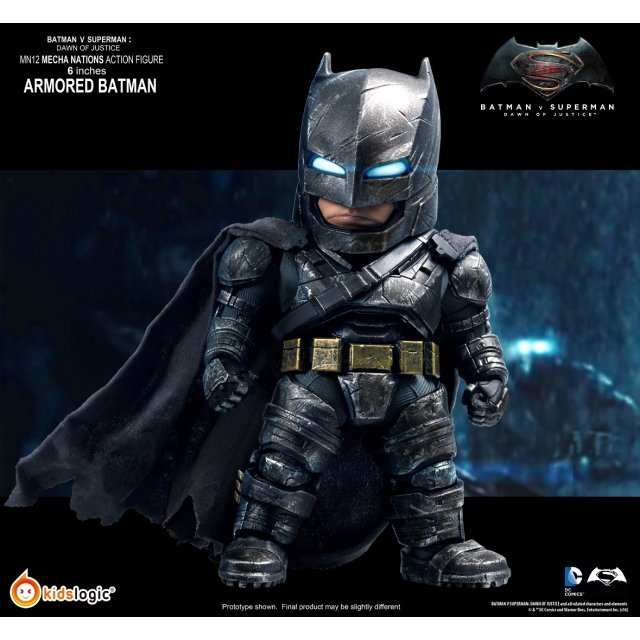 Mecha Nations Batman v Superman Dawn of Justice Action Figure: Batman Armored Ver.