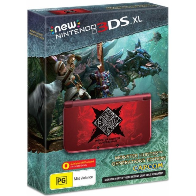 New Nintendo 3DS XL (Monster Hunter Generations Edition) [Limited Edition]
