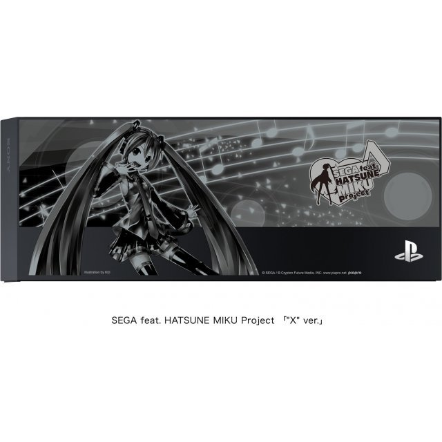 PlayStation 4 HDD Bay Cover Sega feat. Hatsune Miku Project X ver. (Black)