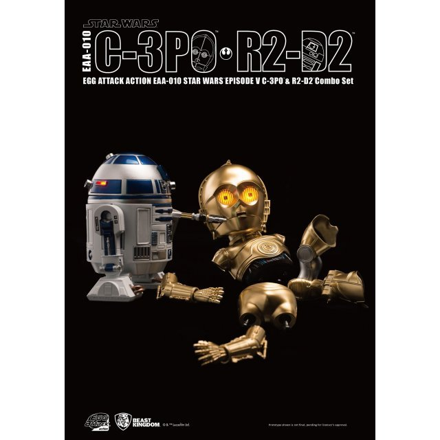 Egg Attack Action Star Wars Episode V: C-3PO & R2-D2 Combo Set