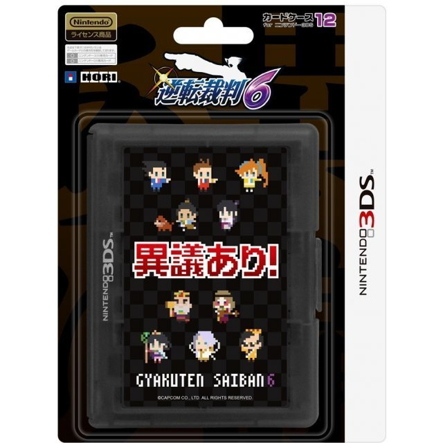 Gyakuten Saiban 6 Card Case 12 for 3DS