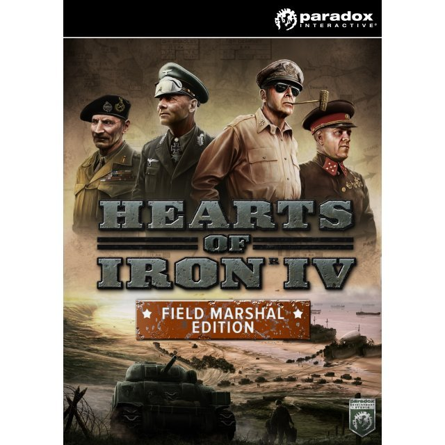 Hearts of Iron IV [Field Marshal Edition] (Steam)