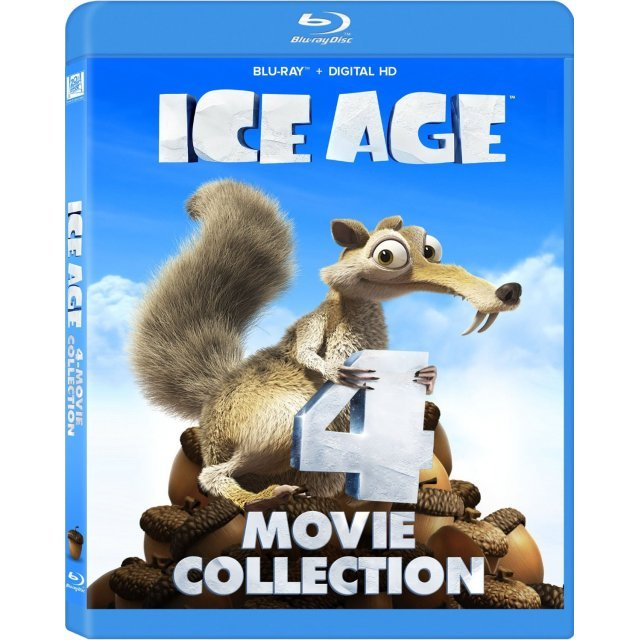 Ice Age: 4 Movie Collection [Blu-ray+Digital HD]