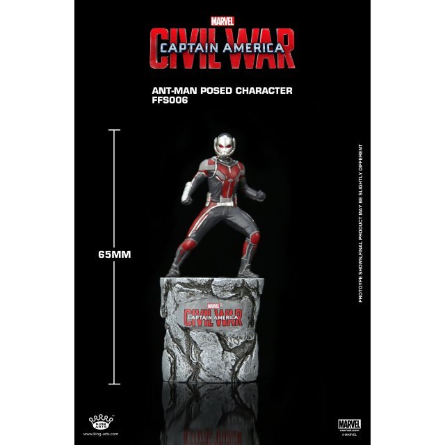 King Arts Format Figure Series: Ant Man Posed Character
