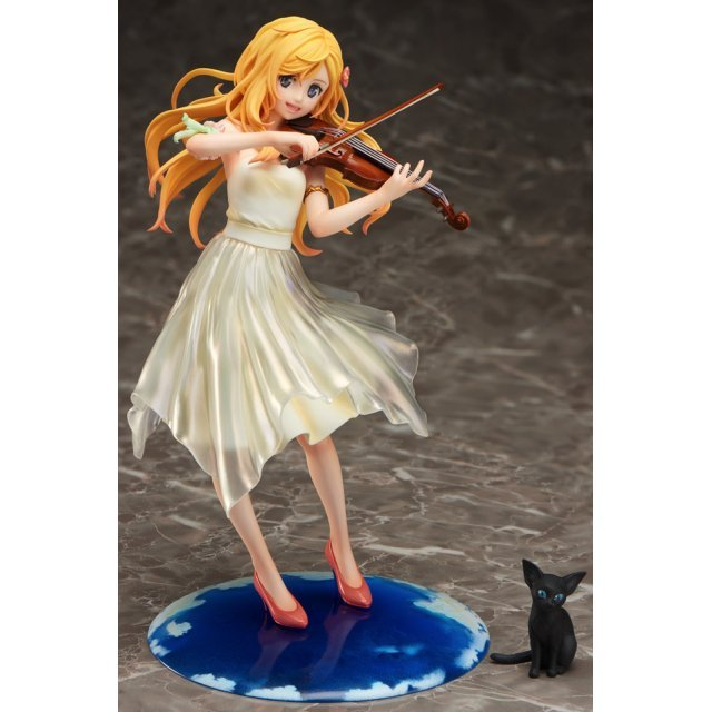 Your Lie in April 1/8 Scale Pre-Painted Figure: Kaori Miyazono Dress Ver.