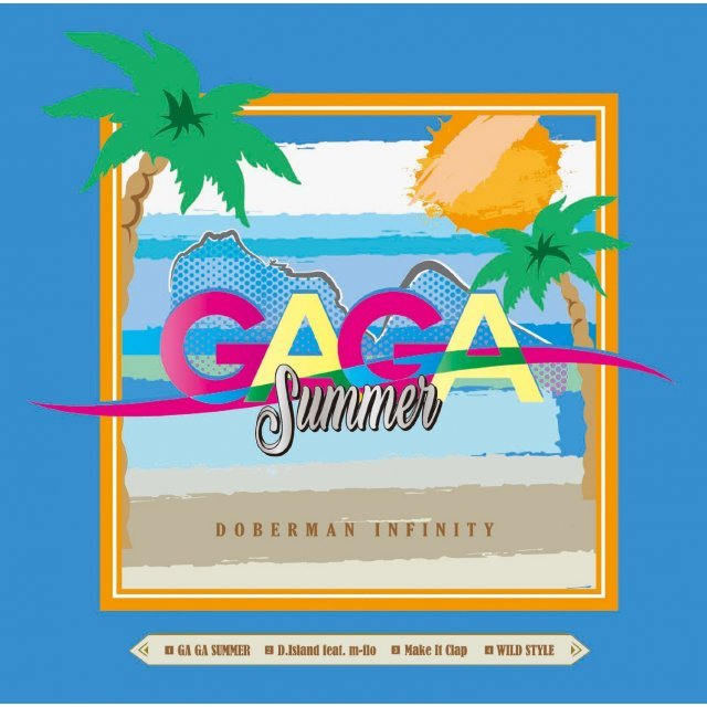 Ga Ga Summer / D.Island Feat. M-Flo [CD+DVD Limited Edition]